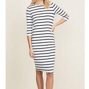 ElevenParis Basic Striped Dress